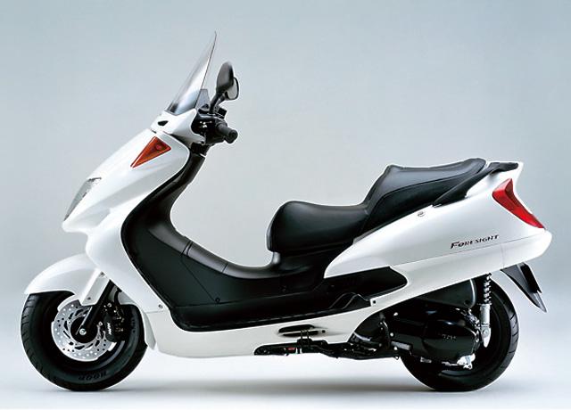 【フォーサイトEX】絶版後の人気も高い250ccスクーター